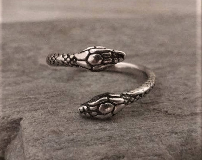 Silver Snake Head Ring,Call for Code to Unlock Wholesale Pricing