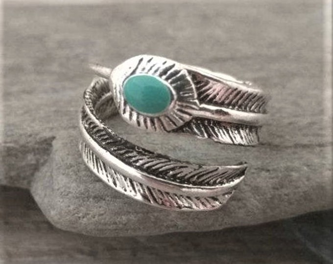 Silver Leaf Wrap Around Ring, Call for Code to Unlock Wholesale Pricing
