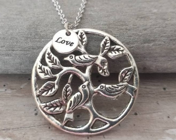 Love Birds Necklace, Please Call for Wholesale Pricing