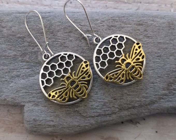 Honey Comb Earrings, EAR-3-Please call for wholesale pricing