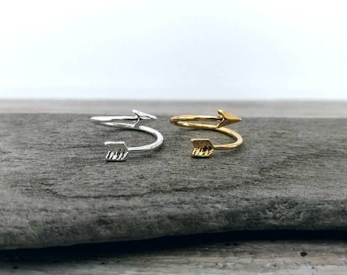 Arrow Wrap Ring-MOQ-3