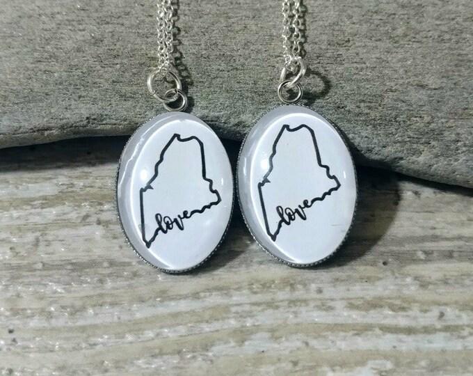 Custom State Pride Necklaces, MOQ 5