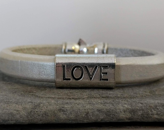 Belive/Love Bracelet, Handmade, LB-35- Please call for wholesale pricing