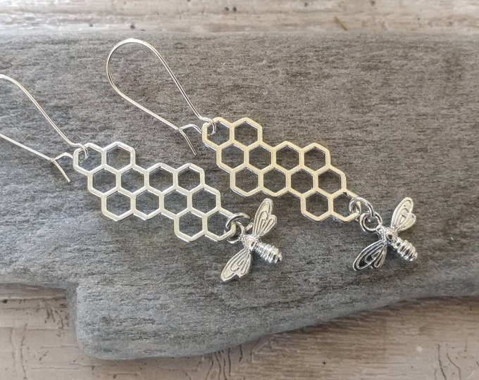 Honey Comb Earrings, EAR-15-Please call for wholesale pricing