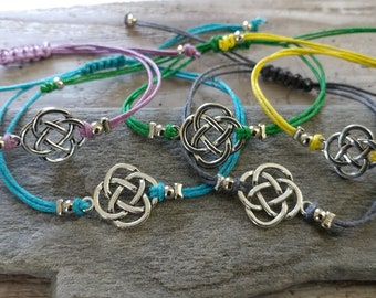 SET, 5 Celtic Bracelets, CORDB-6