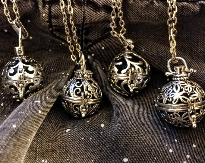 Ball Diffuser Locket, AL-BALL- Please call for wholesale pricing