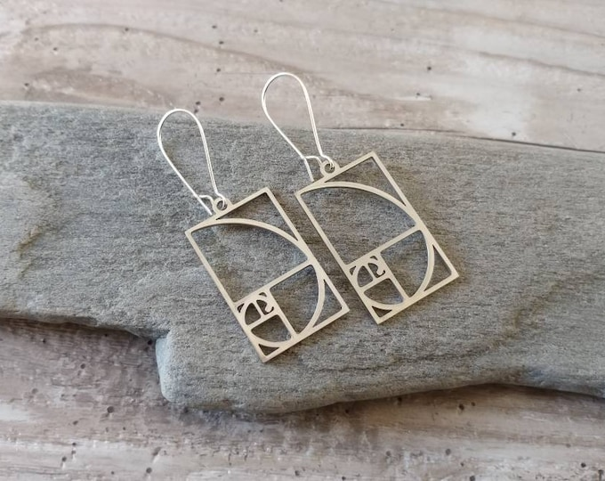 Fibanacci Charm Earrings, EAR-8-Please call for wholesale pricing