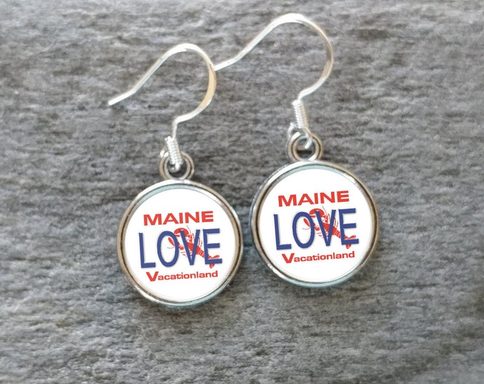 Maine Love Plate, Handmade, 12  Settings Available, MLP-E-Please call for wholesale prices