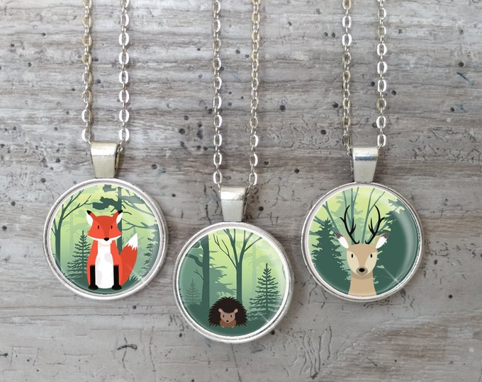 Kid's Forest Series, Silver or Bronze, FS-N- Please call for wholesale prices
