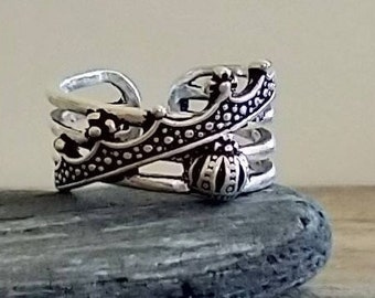 Layered Crown Ring, List Price Reflects MSRP