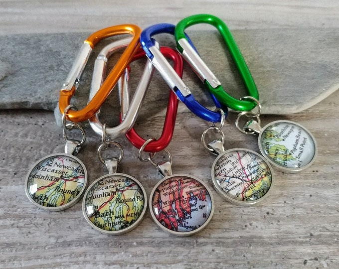 Carabiner Key Chain, Custom Image, KC-3- Please call for wholesale prices