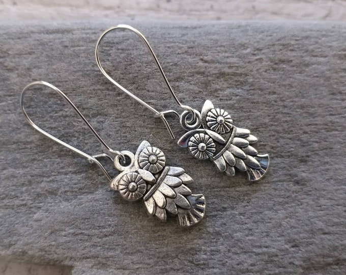 Petite Owl Earrings, EAR-9-Please call for wholesale pricing