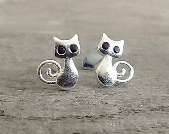 Tiny Cat Earrings, List Price reflects MSRP
