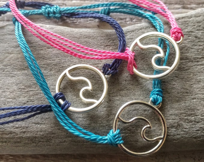 Wave Bracelets, CORDB-5- Please call for wholesale pricing