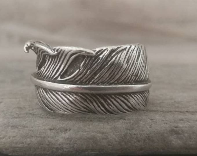 Antique Silver Leaf Statement Ring, Call for Code to Unlock Wholesale Pricing
