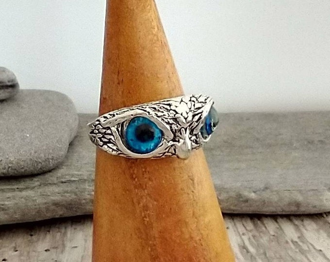 Cool Owl Statement Ring, List Prices reflect MSRP, MR-N35