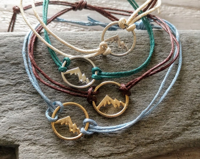 SET, 5 Mountain Bracelets, CORDB-4- Please call for wholesale pricing