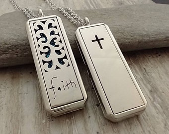 Christian Inspired Aromatherapy Necklace, List Prices Reflect MSRP, AN-CHRISTIAN