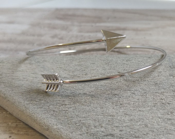 Minimalist Arrow Wrap Bracelet, SB-10- Please call for wholesale prices