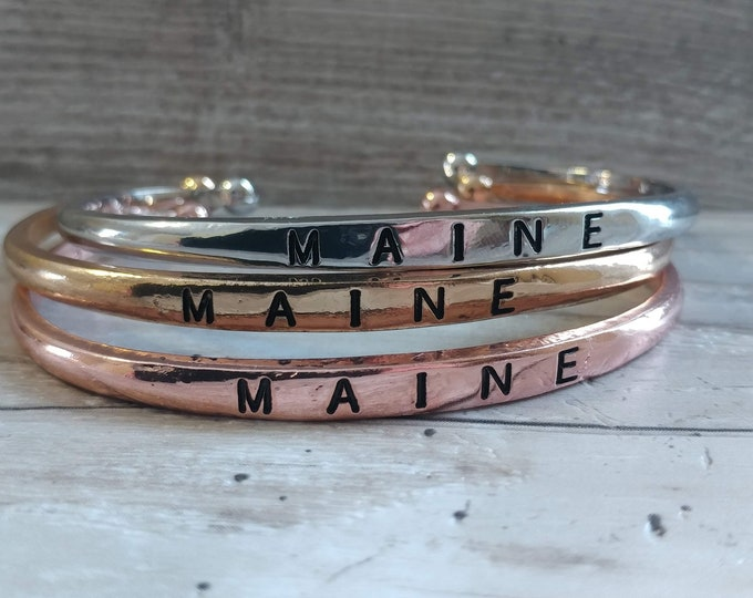 SALE!! LIMITED, Stamped Cuff Bracelet-DISC-B- Please call for wholesale pricing