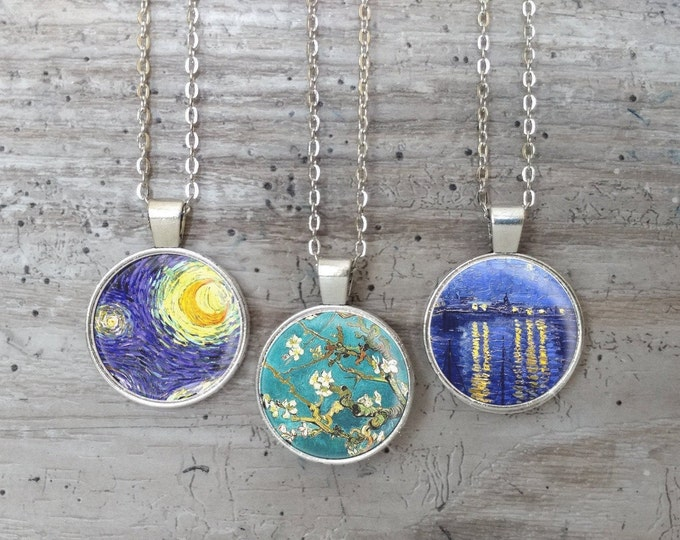 Van Gogh Necklace, Silver or Bronze, VG-N- Please call for wholesale prices