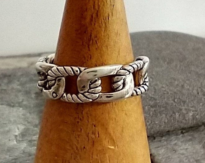 Silver Rope Ring, List Prices reflect MSRP, MR-212