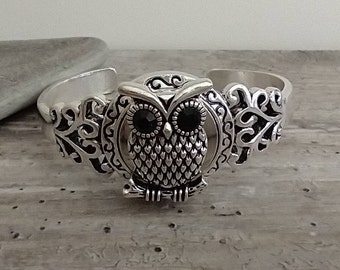 Owl Cuff Bracelet, List Price Reflects MSRP, SB-35