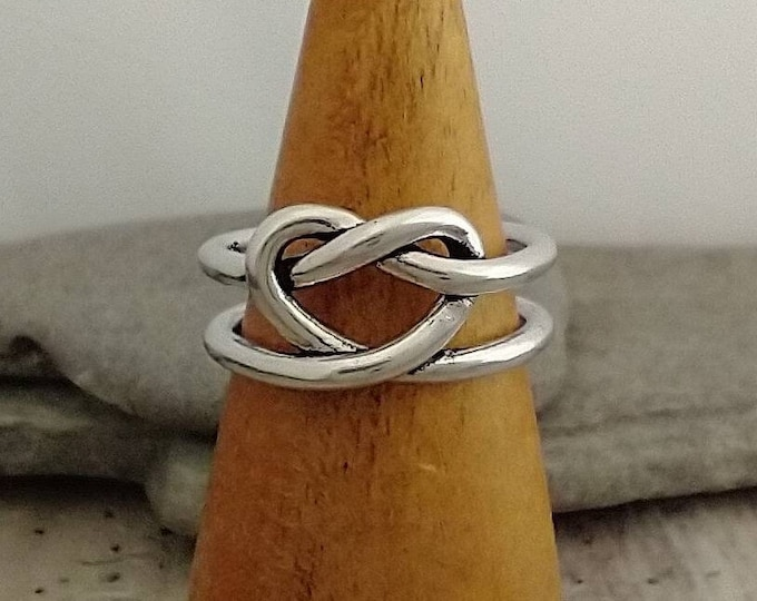 Double Heart Knot Ring, List Prices reflect MSRP, MR-N29