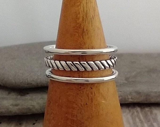 Beautiful Bali Stack Ring, List Prices reflect MSRP, MR-N33