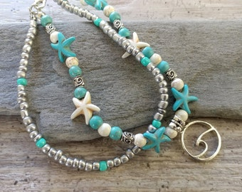 Wave Anklets, ANK-1- Please call for wholesale pricing