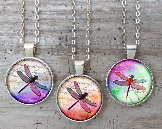 Handmade Dragonfly Necklace, List Prices reflect MSRP