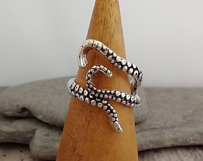 New Silver Octopus Ring, List Prices reflect MSRP, MR-N40
