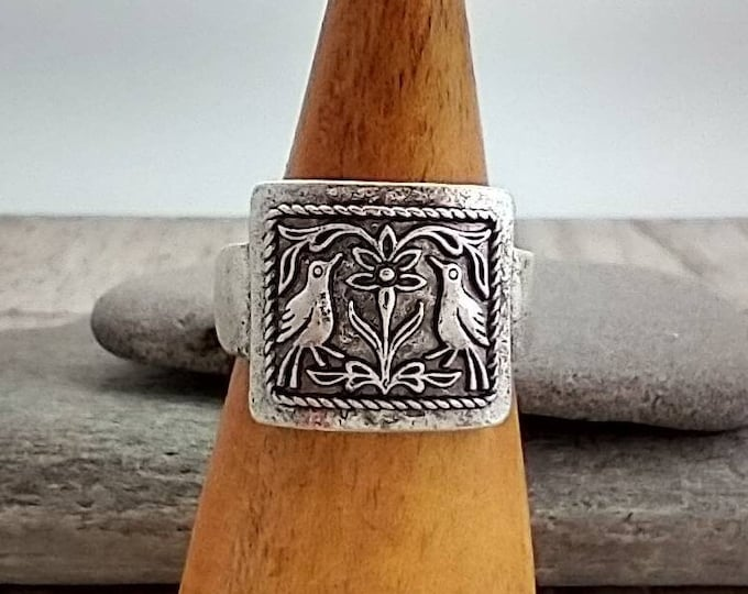Silver Bird Ring, List Prices reflect MSRP, MR-A-95