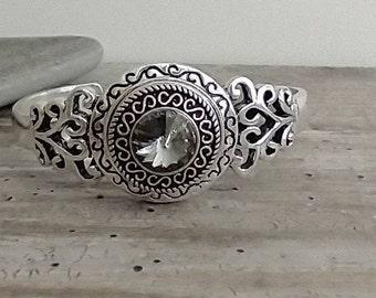 Crystal Cuff Bracelet, List Prices reflect MSRP, SB-33