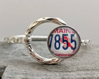 Hammered Circle Snap Bracelet, SB-11- Please call for wholesale pricing