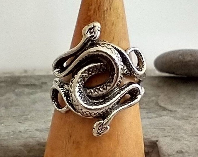 Intertwined Snake Ring, List Prices reflect MSRP,  MR-N44