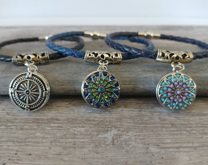Braided Snap Bracelet, SB-21- Please call for wholesale prices
