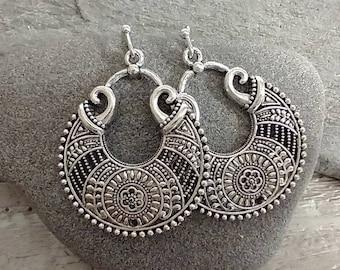 Basket Weave Bali Earrings, List Prices reflect MSRP, BOHO-E-2