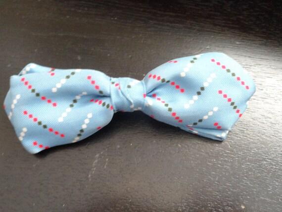 95a438e198b9 Vintage Crown Clip Bow Tie | Etsy