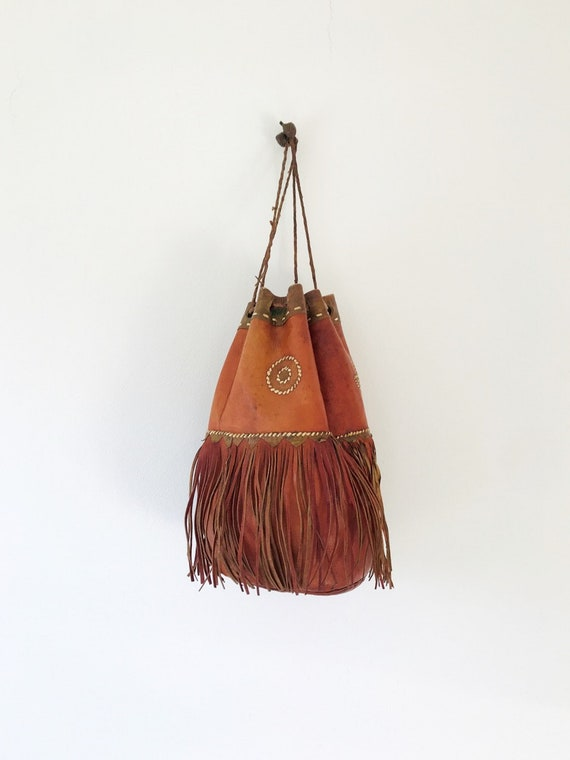 Tuareg Leather Handbag Mauritania