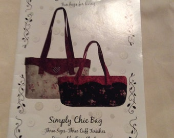 Simply Chic Bag - by Sweet Treasures, Fun Bags for Living - UNCUT