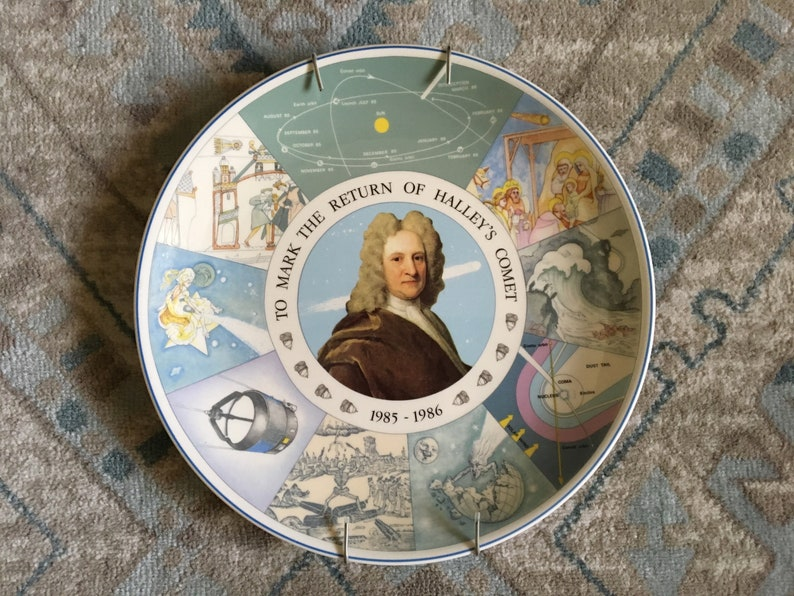your choice 1980s Wedgwood Limited Edition Miscellaneous Collectors\u2019 Plates \u2013 Ballooning Motoring Halley\u2019s Comet