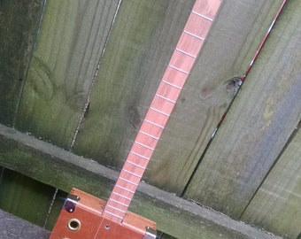 3 String Acoustic/Electric Cigar Box Guitar