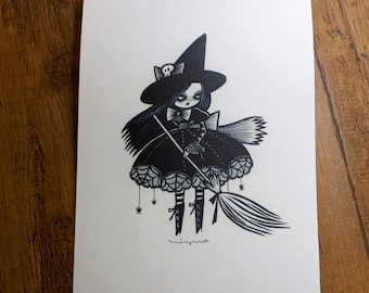 Witch - Print