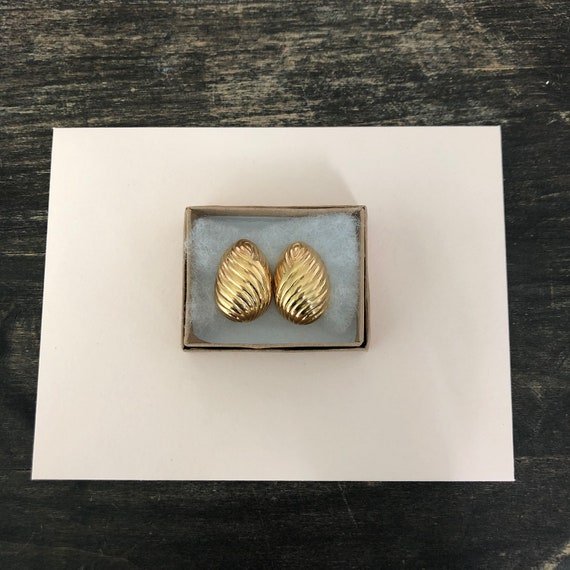 Nina Ricci Signed Designer Vintage Earrings - 198… - image 10