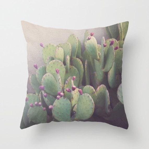 Outdoor Pillows Cactus Pillows Southwest Decor Prickly Etsy