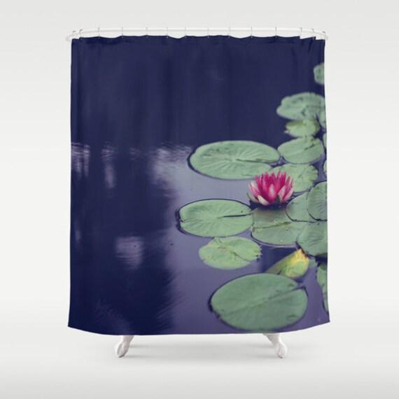 Lily Shower Curtain Bathroom Decor Romantic