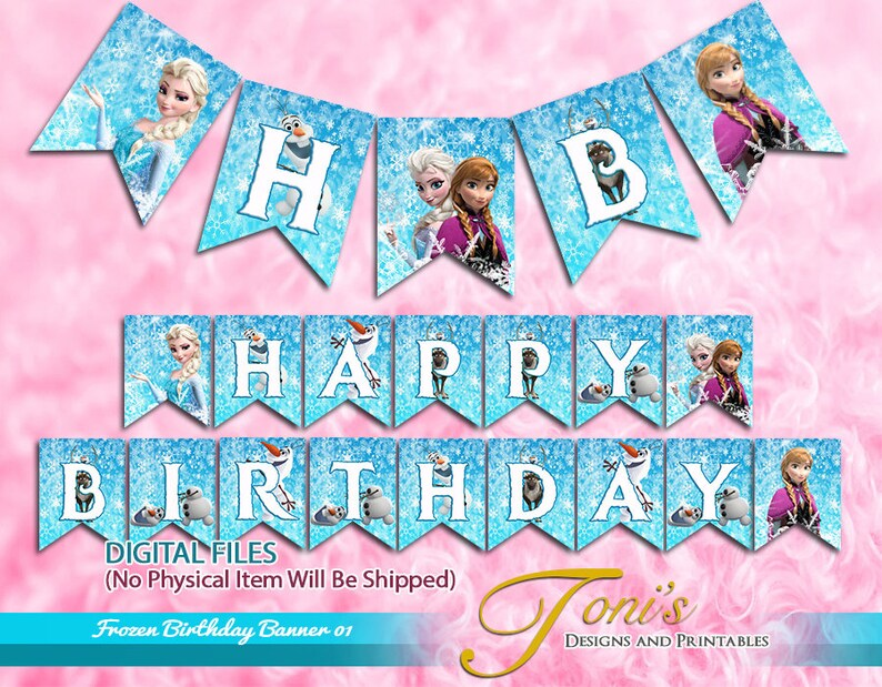 picture relating to Frozen Banner Printable named Frozen Birthday Banner, Frozen Banner Printable, Frozen Birthday Buntings, Frozen Topic, Printable Banner, Garland, Bash Decor 01