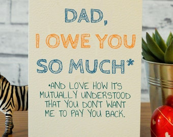 Funny Fathers Day Card Dad Birthday Gifts Gift Step