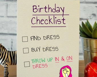 Funny Best Friend Birthday Cards Card Gift